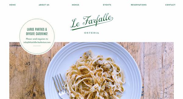 New Website Design Trends — non-full width